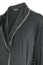 MAMA Jersey dressing gown - Dark grey -  | H&M CN 3