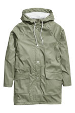 Rain coat - Khaki green - Ladies | H&M CN 2