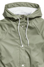 Rain coat - Khaki green - Ladies | H&M CN 3
