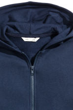 Hooded jacket - Dark blue - Kids | H&M 3