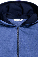Hooded jacket - Blue marl - Kids | H&M CN 3