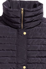 Padded gilet - Dark blue - Ladies | H&M CN 3
