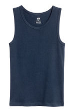 2-pack vest tops - Dark blue - Kids | H&M 3