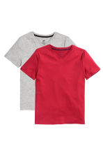 2-pack T-shirts - Red - Kids | H&M CN 2