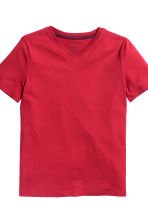 2-pack T-shirts - Red - Kids | H&M CN 3