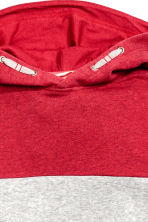 Hooded top - Red -  | H&M CN 3