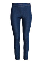Stretch trousers - Dark denim blue - Ladies | H&M GB 2