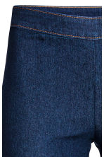 Pantaloni elasticizzati - Blu denim scuro - DONNA | H&M IT 3