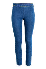 Stretchbroek - Denimblauw - DAMES | H&M BE 3