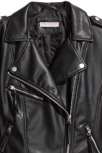 H&M+ Biker jacket - Black -  | H&M GB 3