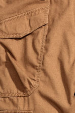 Lined cargo trousers - Camel - Kids | H&M CN 5