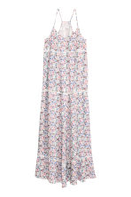 Patterned maxi dress - White/Floral - Ladies | H&M CN 2