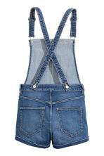 Denim salopetteshort - Retrodenim - DAMES | H&M BE 3