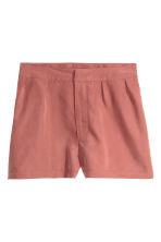 Shorts in a modal blend - Rust - Ladies | H&M CN 2
