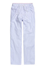 Patterned pyjama bottoms - White/Blue striped - Men | H&M CN 2