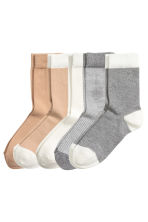 5-pack socks - Mole - Ladies | H&M CN 1