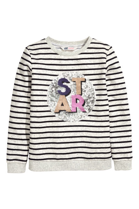 Sweatshirt with a motif