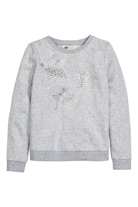 Sweat-shirt à motif