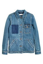 Denim jacket - Denim blue -  | H&M CN 2