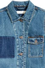 Denim jacket - Denim blue -  | H&M CN 4