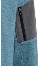 Hooded sports jacket - Grey-blue marl - Men | H&M CN 5