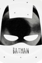 Porseleinen bordje - Wit/Batman - HOME | H&M BE 3