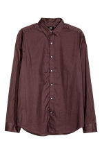 Camicia in cotone Regular fit - Prugna - UOMO | H&M IT 2