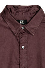 Camicia in cotone Regular fit - Prugna - UOMO | H&M IT 3