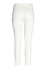 Stretch trousers - White - Ladies | H&M CN 3