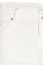 Stretch trousers - White - Ladies | H&M CN 5