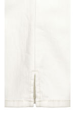 Stretch trousers - White - Ladies | H&M CN 4