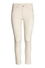 Stretch trousers - Light beige - Ladies | H&M CN 2