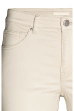 Stretch trousers - Light beige - Ladies | H&M CN 4