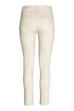 Stretch trousers - Light beige - Ladies | H&M CN 3