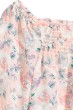 Boho blouse - Powder pink/Floral - Ladies | H&M CN 3