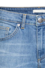 Skinny Low Ankle Jeans - Light denim blue - Ladies | H&M CN 3