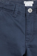 Skinny fit Chinos - Dark blue - Kids | H&M CN 3