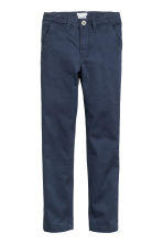 Skinny fit Chinos - Dark blue - Kids | H&M CN 2