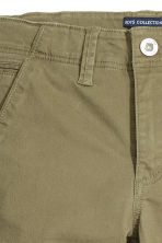 Skinny fit Chinos - Khaki green - Kids | H&M CN 4