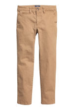 Slim fit Chinos - Dark beige - Kids | H&M CN 2