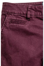 Slim fit Chinos - Burgundy - Kids | H&M CN 3