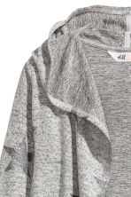 Cardigan with a glitter print - Grey marl/Stars - Kids | H&M CN 3