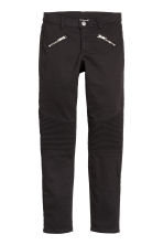Biker trousers - Black - Kids | H&M 2