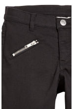 Biker trousers - Black - Kids | H&M 3