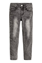 Pantaloni super-stretch - Nero Washed out - BAMBINO | H&M IT 2