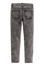 Pantaloni super-stretch - Nero Washed out - BAMBINO | H&M IT 3