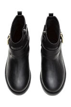 Fleece-lined boots - Black - Kids | H&M CN 2