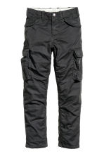 Lined cargo pants - Black - Kids | H&M CN 2