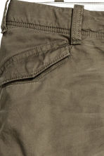 Lined cargo pants - Khaki green - Kids | H&M CN 3