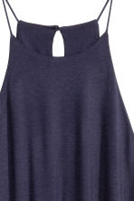 A-line jersey dress - Dark blue - Ladies | H&M CN 2